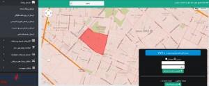 ارسال پیامک از روی نقشه گوگل به شهر های مشهد و تهران و ..